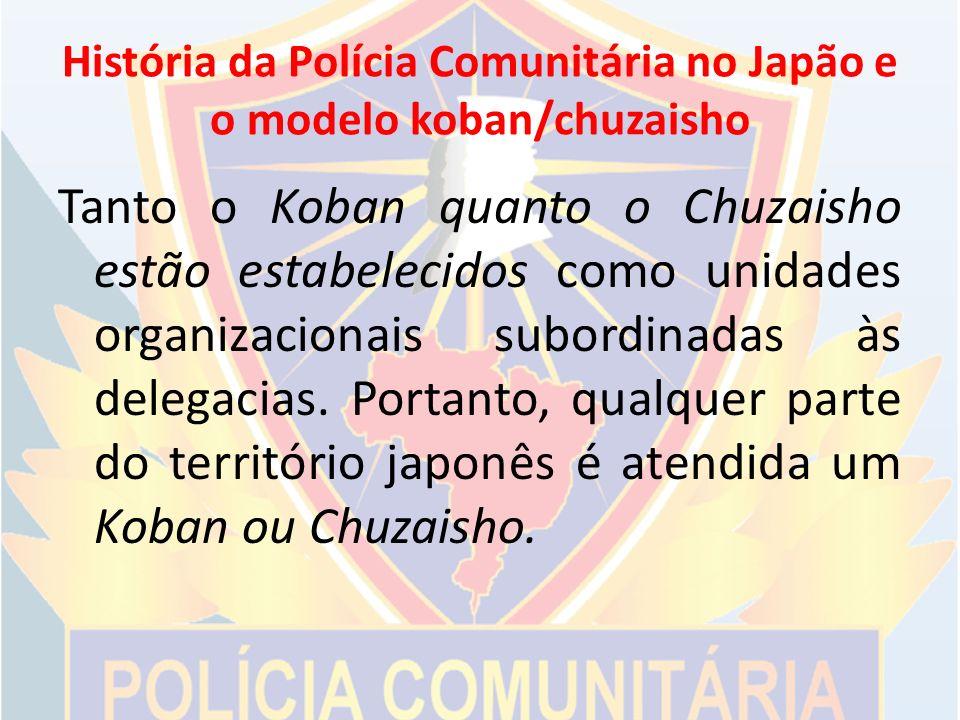 História da Polícia Comunitária no Japão e o modelo koban/chuzaisho