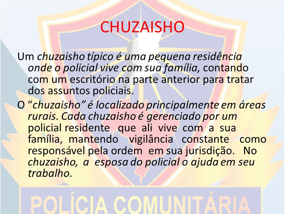 CHUZAISHO