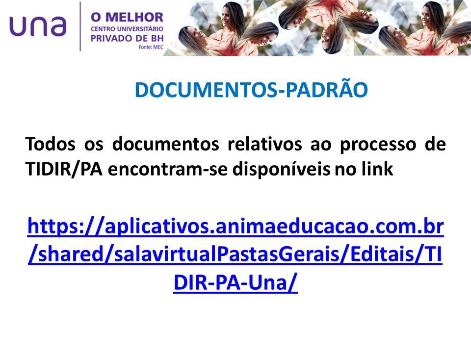 DOCUMENTOS-PADRÃO