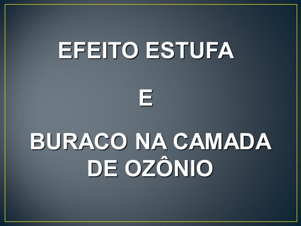 BURACO NA CAMADA DE OZÔNIO