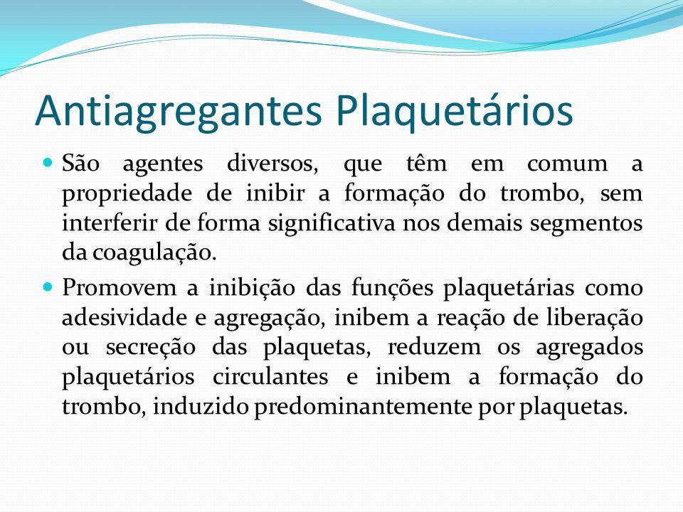 Antiagregantes Plaquetários