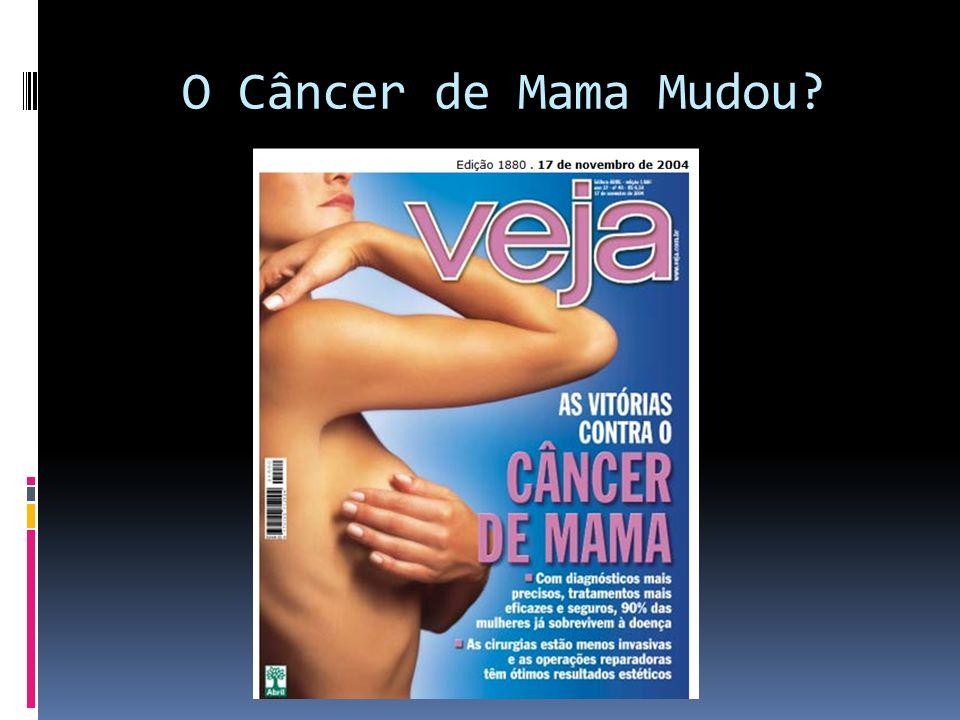 O Câncer de Mama Mudou