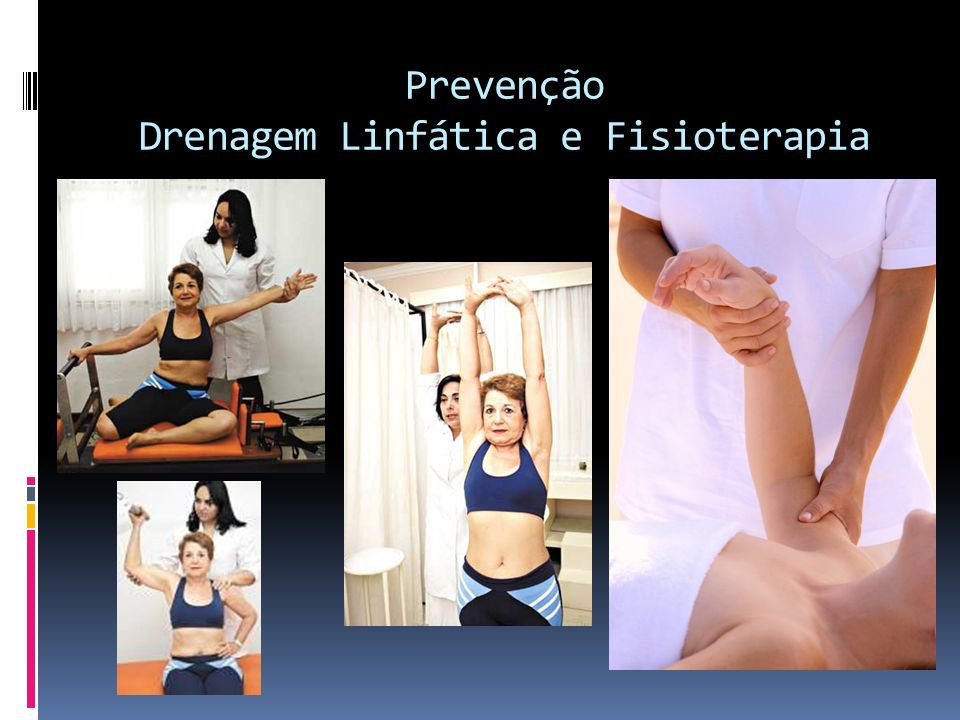 Prevenção Drenagem Linfática e Fisioterapia