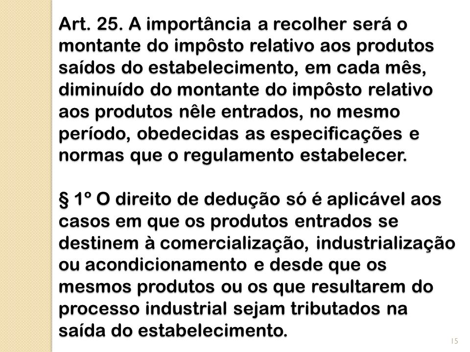Art. 25.