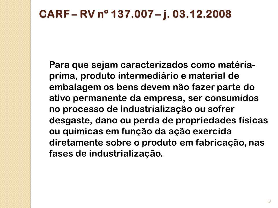 CARF – RV nº 137.007 – j. 03.12.2008