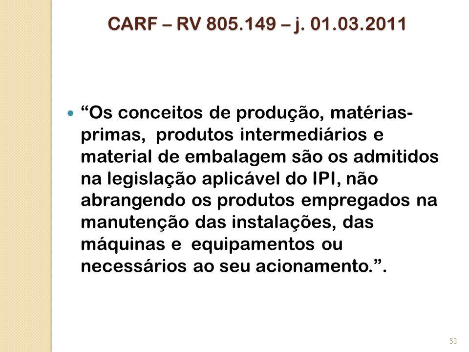 CARF – RV 805.149 – j. 01.03.2011