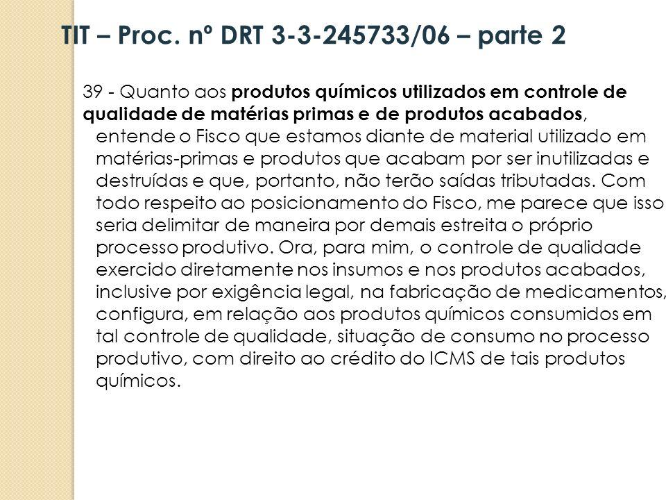 TIT – Proc. nº DRT 3-3-245733/06 – parte 2