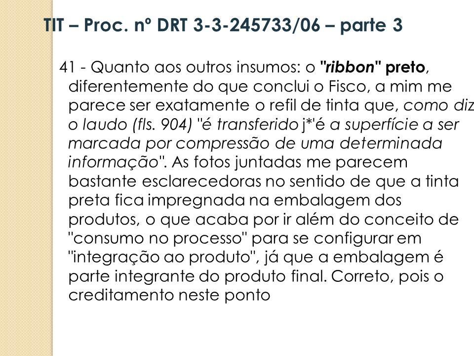 TIT – Proc. nº DRT 3-3-245733/06 – parte 3