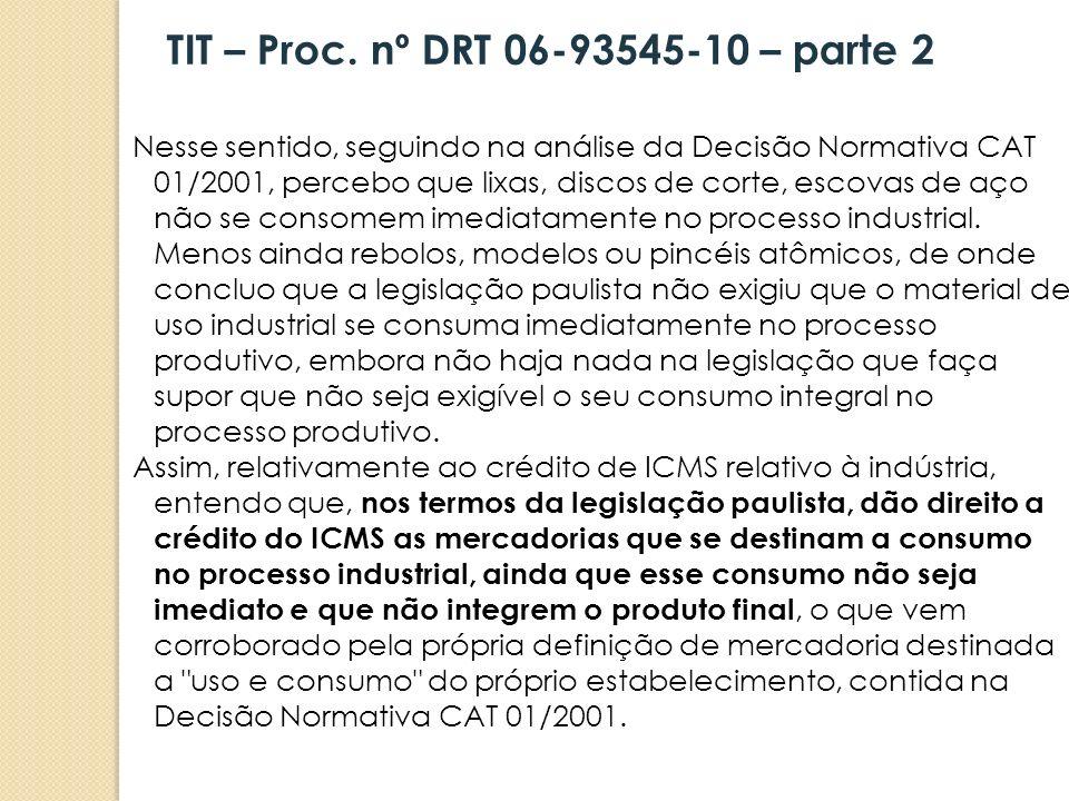 TIT – Proc. nº DRT 06-93545-10 – parte 2