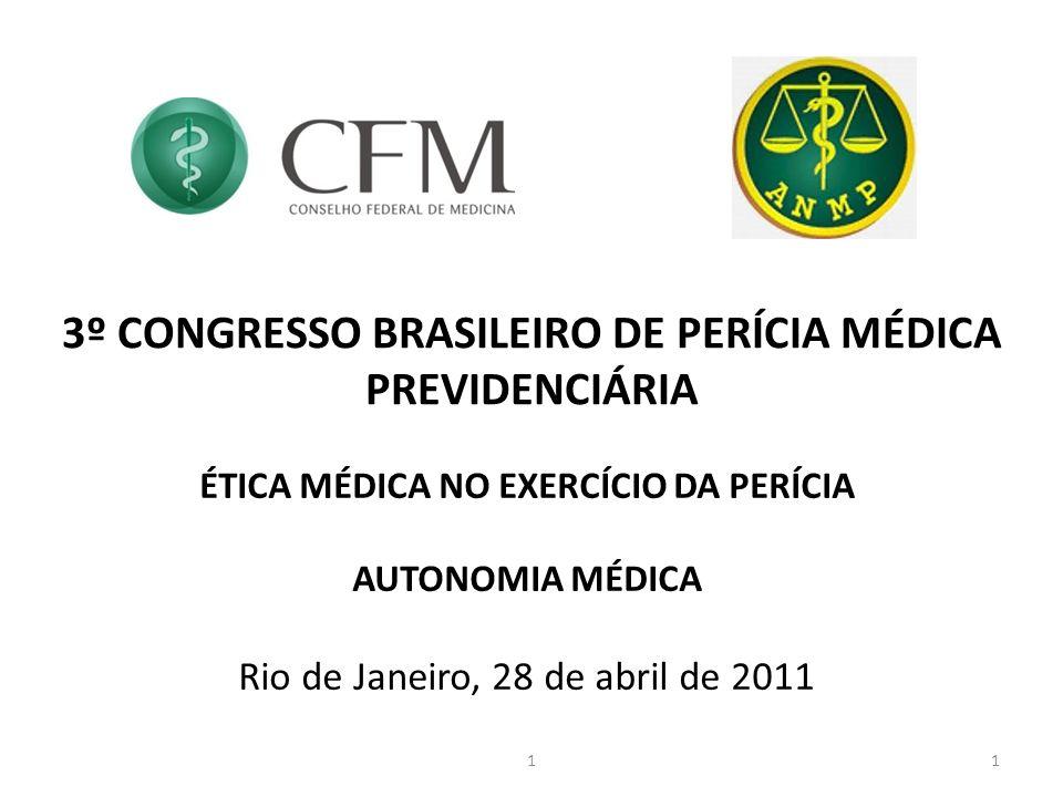 3º CONGRESSO BRASILEIRO DE PERÍCIA MÉDICA PREVIDENCIÁRIA