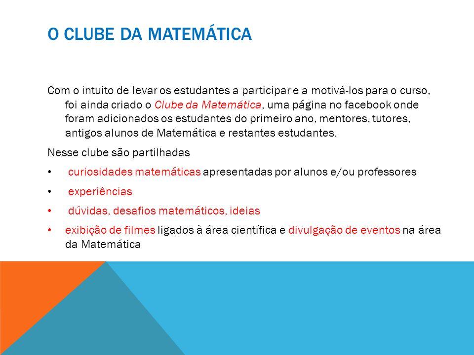 O Clube da Matemática