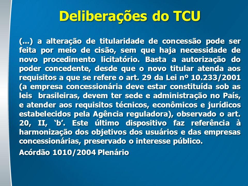 Deliberações do TCU