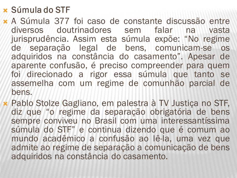 Súmula do STF
