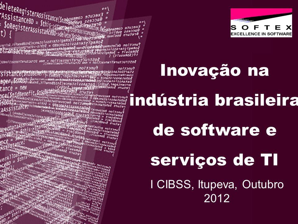 Inovação na indústria brasileira de software e serviços de TI