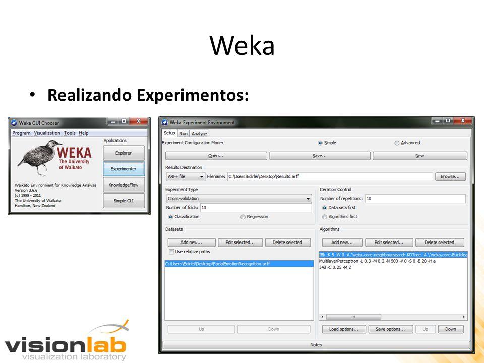 Weka Realizando Experimentos: