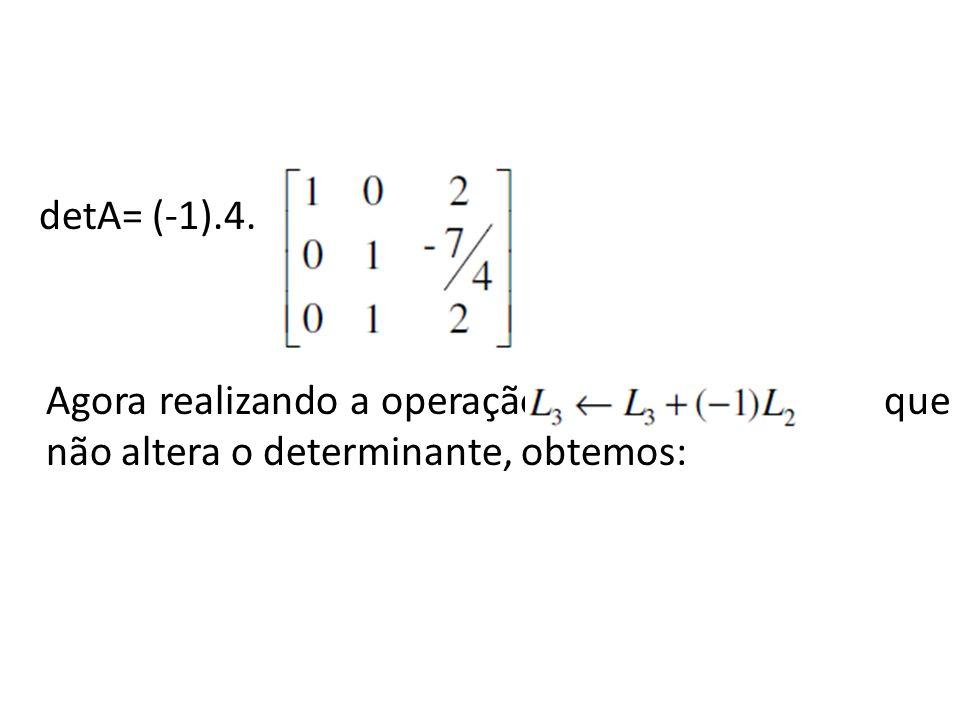 detA= (-1).4.