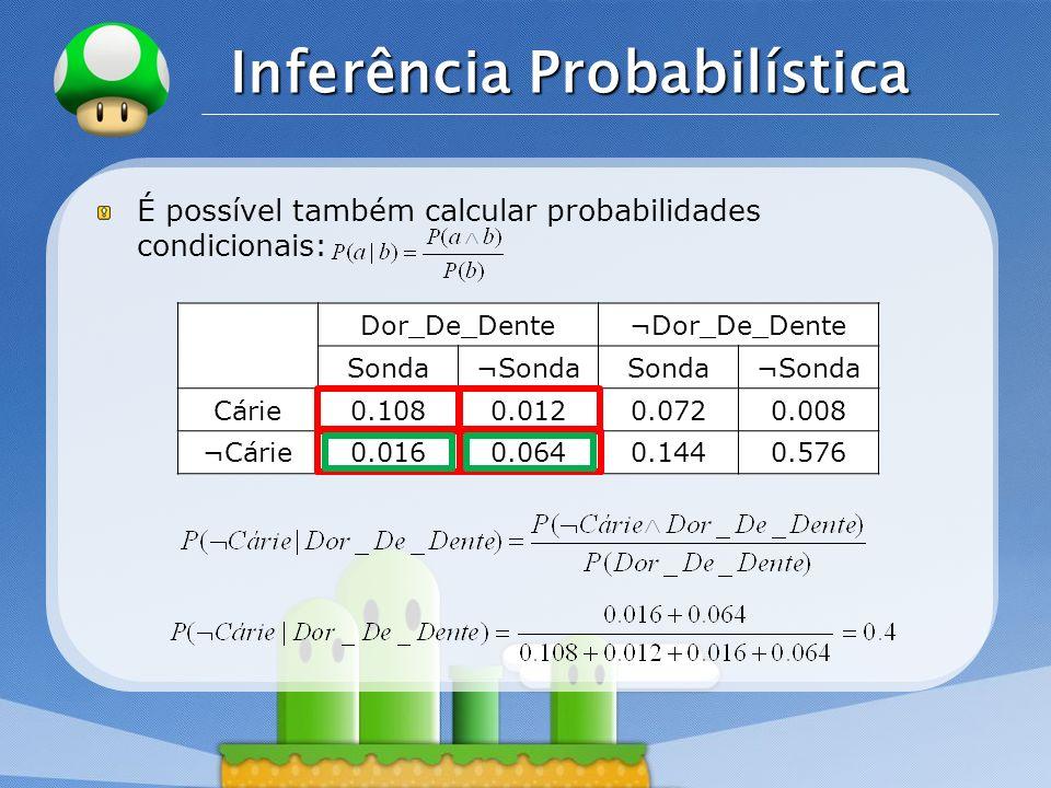 Inferência Probabilística