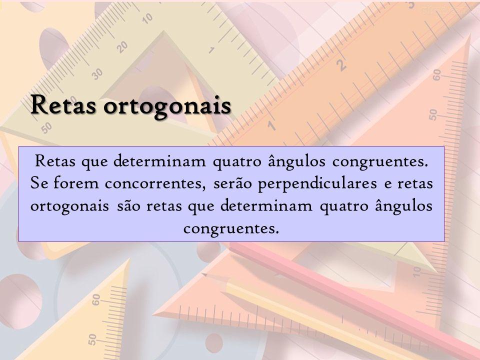 Retas ortogonais