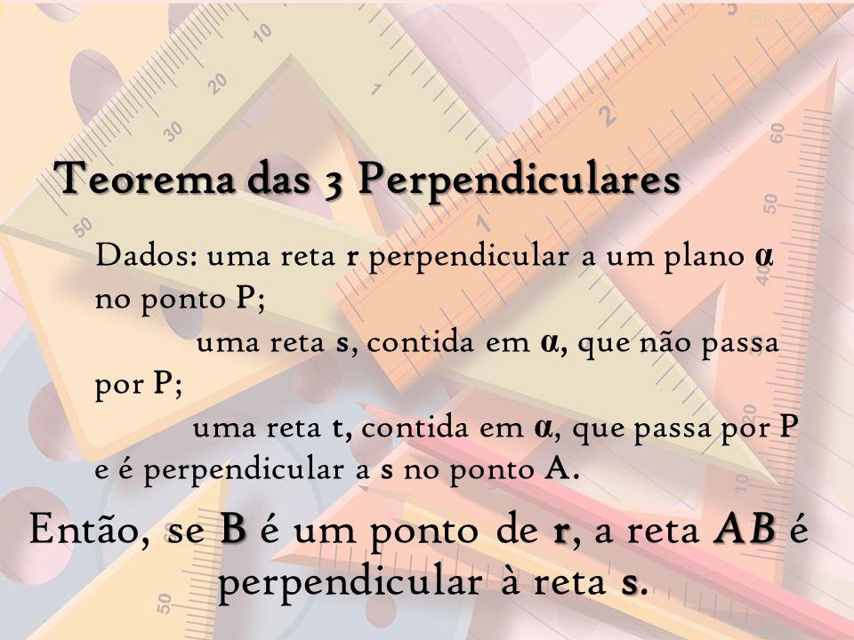 Então, se B é um ponto de r, a reta AB é perpendicular à reta s.