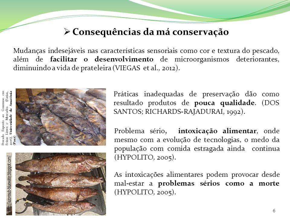 Consequências da má conservação