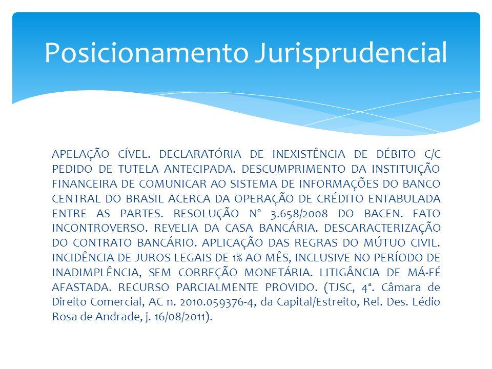 Posicionamento Jurisprudencial