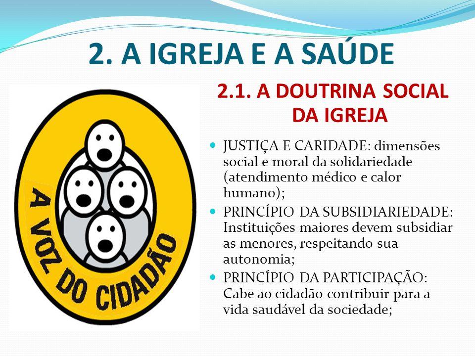 2.1. A DOUTRINA SOCIAL DA IGREJA