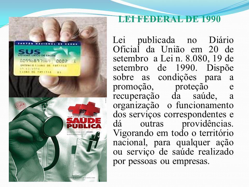 LEI FEDERAL DE 1990