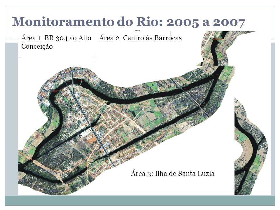 Monitoramento do Rio: 2005 a 2007