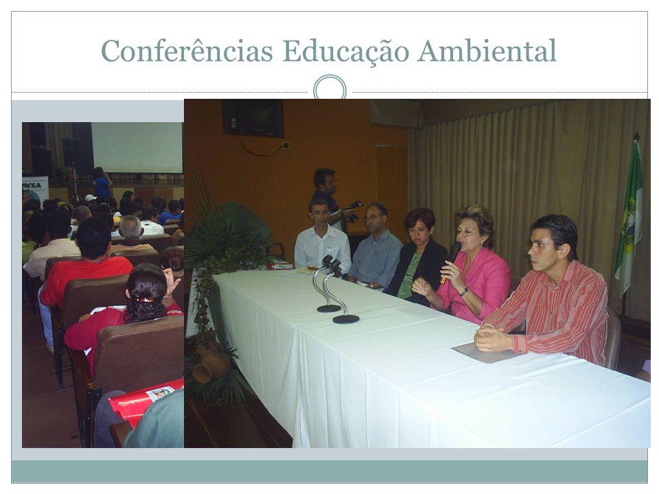Conferências Educação Ambiental