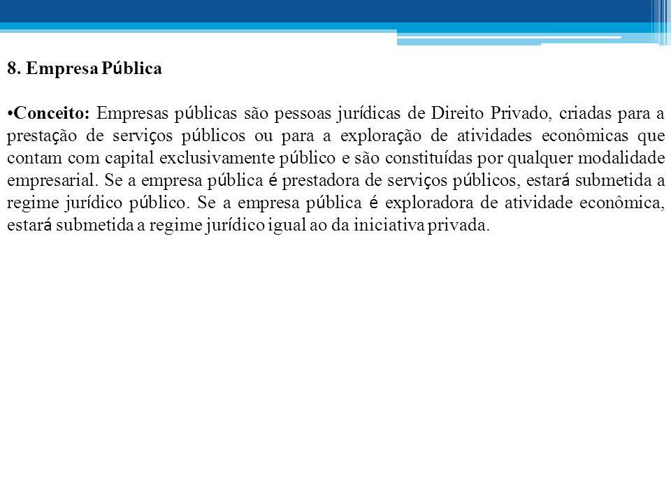 8. Empresa Pública