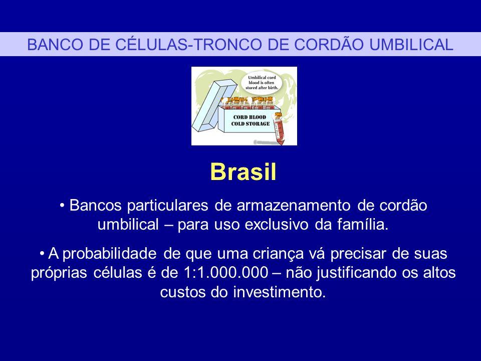 BANCO DE CÉLULAS-TRONCO DE CORDÃO UMBILICAL