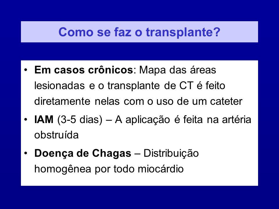 Como se faz o transplante