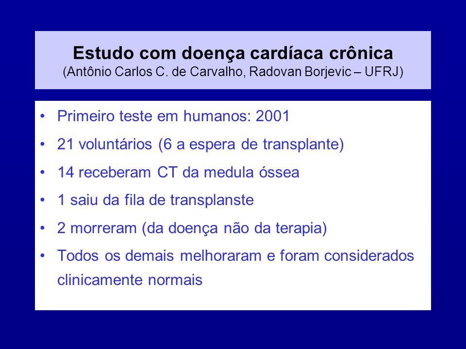 Estudo com doença cardíaca crônica (Antônio Carlos C