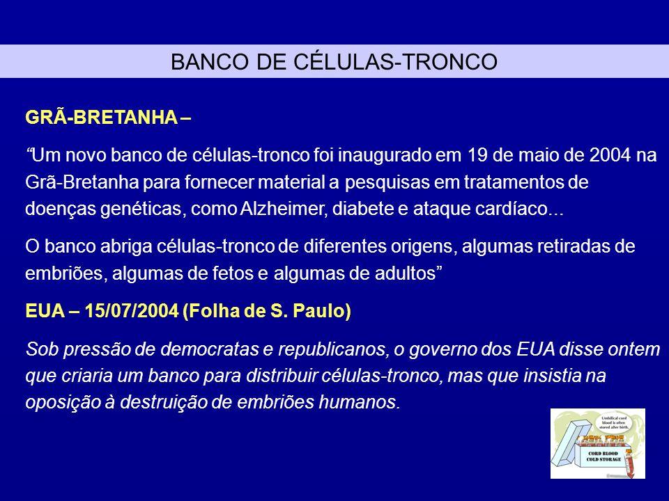 BANCO DE CÉLULAS-TRONCO