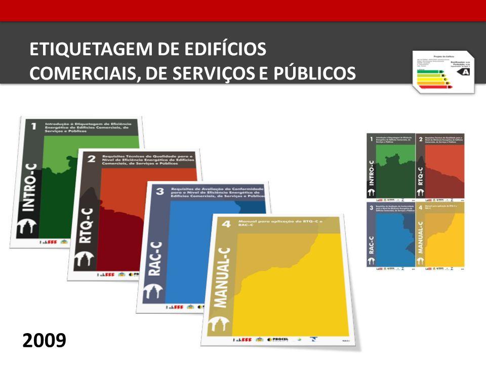 ETIQUETAGEM DE EDIFÍCIOS COMERCIAIS, DE SERVIÇOS E PÚBLICOS