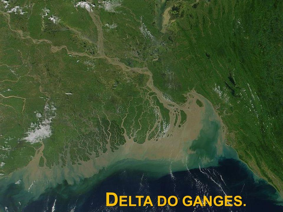 DELTA DO GANGES.
