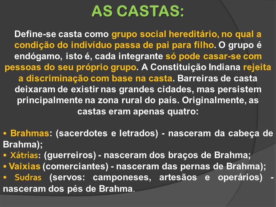 AS CASTAS: