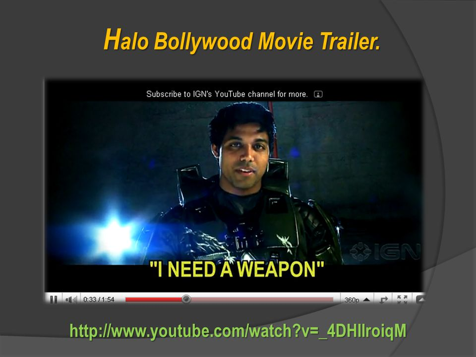 Halo Bollywood Movie Trailer.