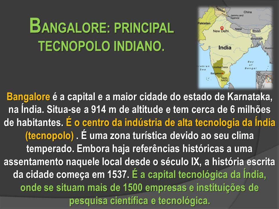 BANGALORE: PRINCIPAL TECNOPOLO INDIANO.