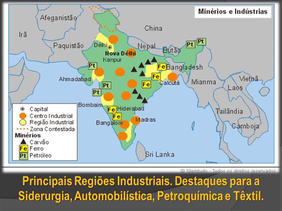 Principais Regiões Industriais