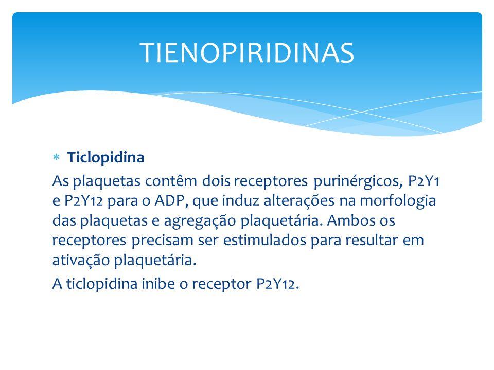 TIENOPIRIDINAS Ticlopidina