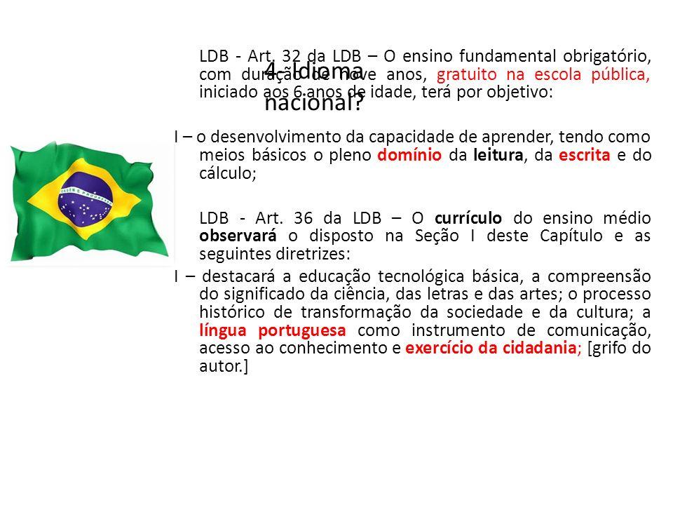 4- Idioma nacional