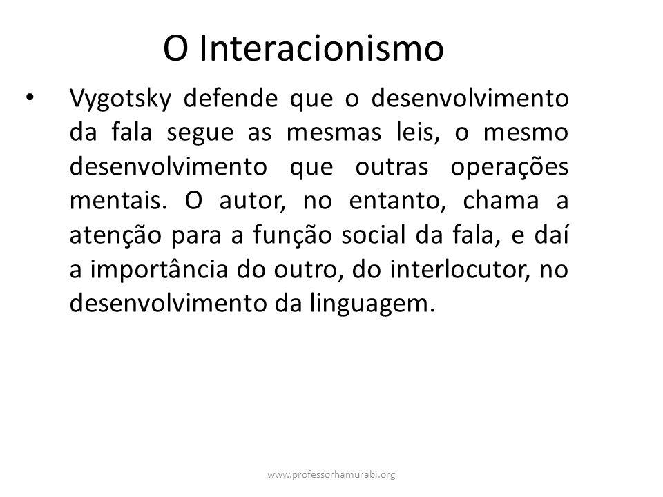 O Interacionismo