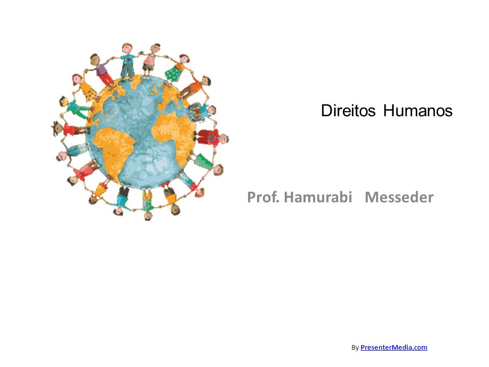 Prof. Hamurabi Messeder