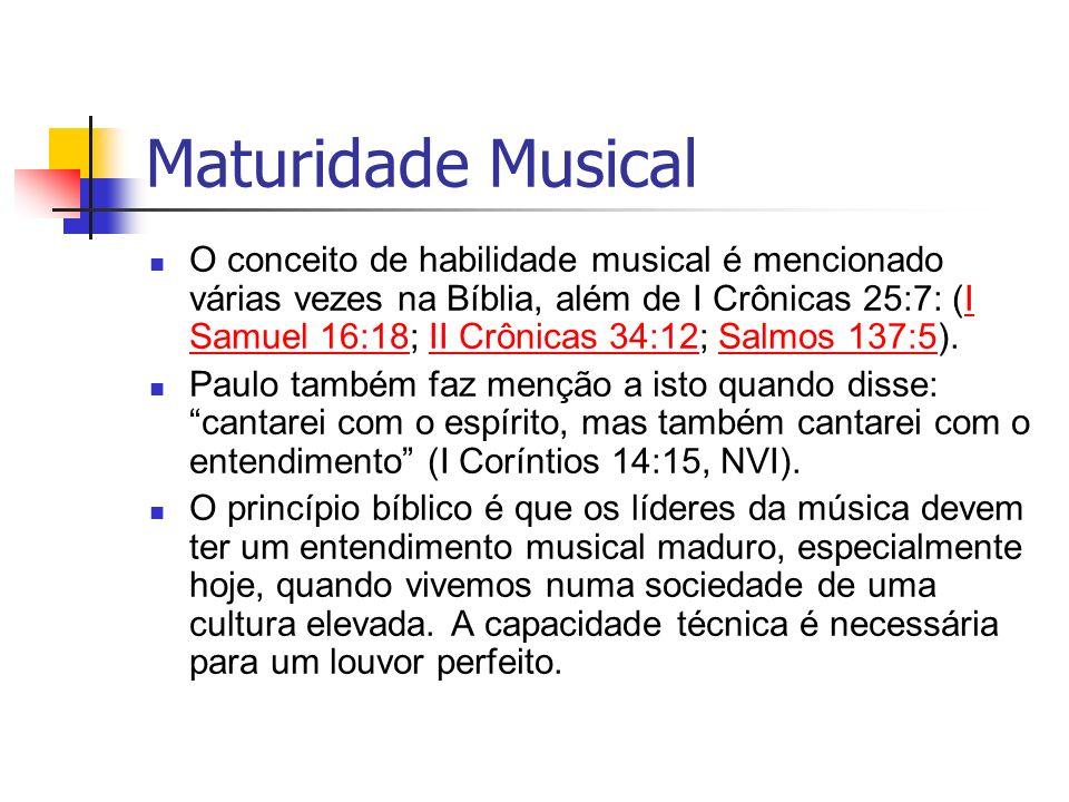 Maturidade Musical