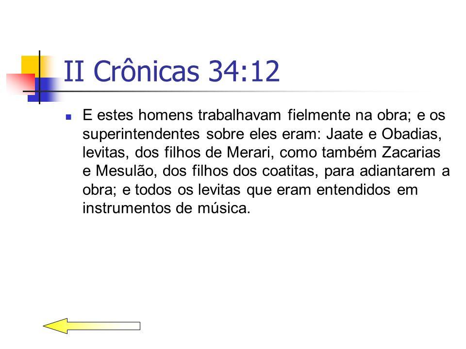 II Crônicas 34:12