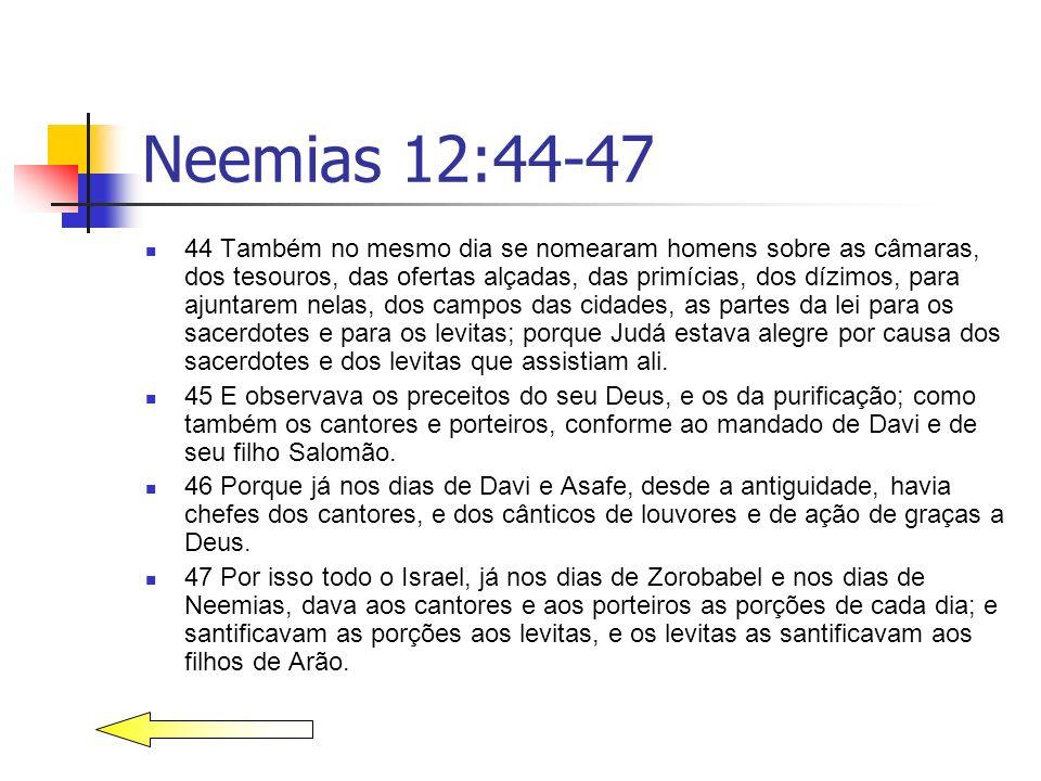 Neemias 12:44-47
