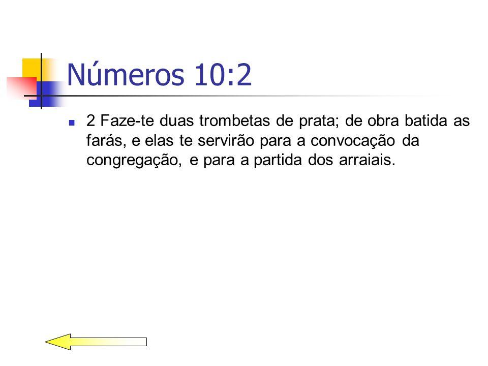 Números 10:2