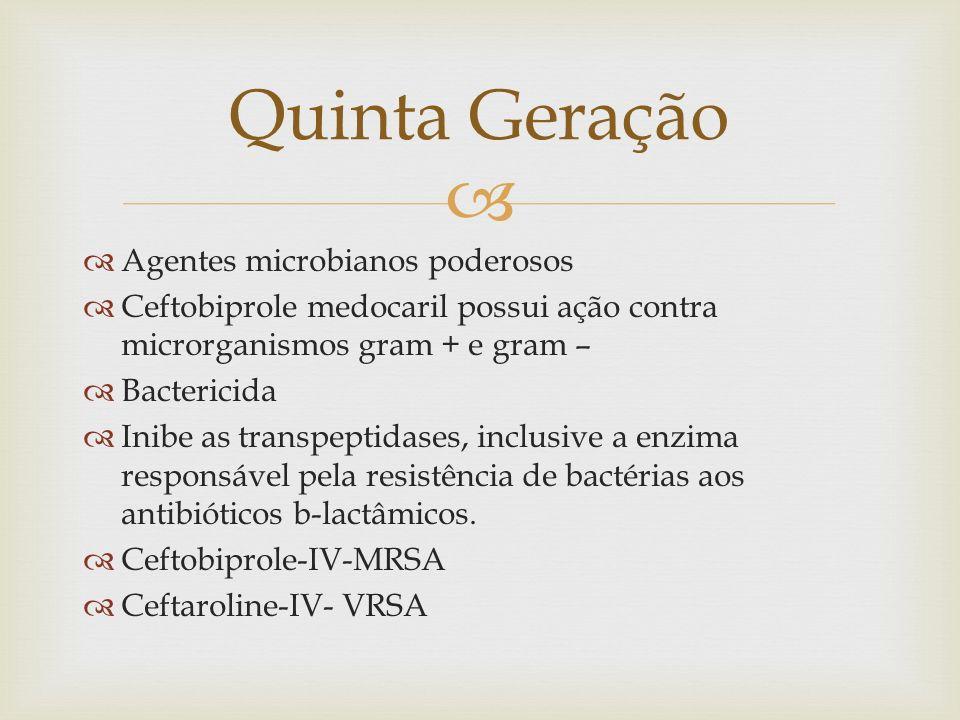 Quinta Geração Agentes microbianos poderosos