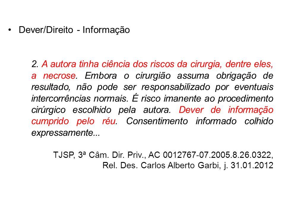 Dever/Direito - Informação